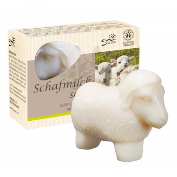 Oiță albă - săpun cremos cu lapte de oaie  85g...