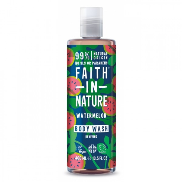 Gel de dus si spuma de baie cu pepene  Faith in Nature 400 ml  Baie și Duș Faith in Nature