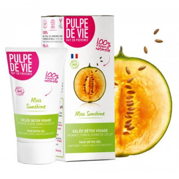 Gel hidratant Detox Miss Sunshine Pulpe de Vie  Curățare și Tonifiere Pulpe de Vie