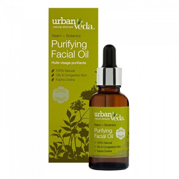 Purifying Facial Oil Urban Veda - Ulei facial Puri...