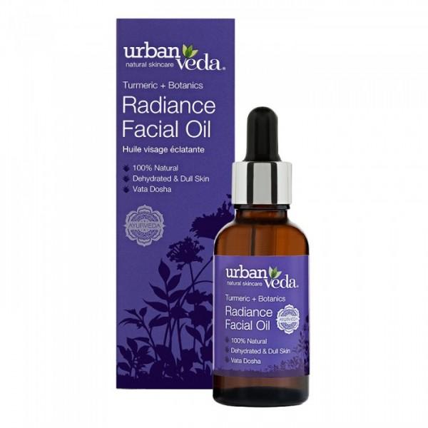 Radiance Facial Oil Urban Veda - Ulei facial Radiance 30 ml  Uleiuri Esențiale Naturale Urban Veda