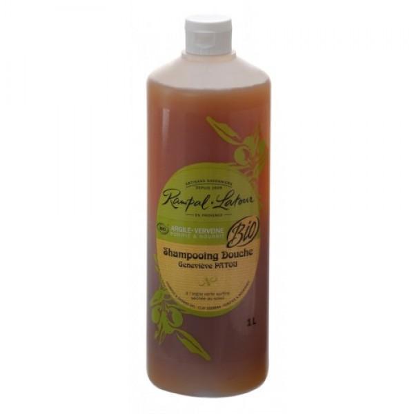 Gel de duş & şampon bio argilă verbină 100...