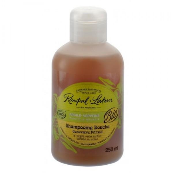 Gel de duş & şampon bio argilă verbină 250...