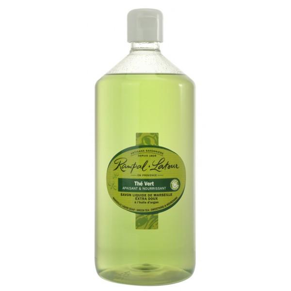 Săpun lichid de Marsilia - ceai verde argan  mâi...