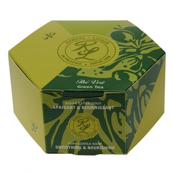 Săpun natural ceai verde argan 150 g Rampal Latour  Săpunuri Naturale Rampal Latour
