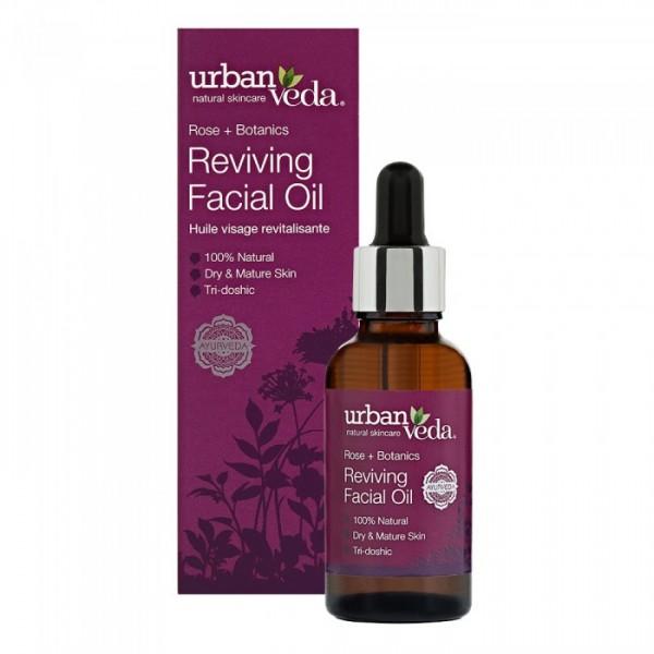 Reviving Facial Oil Urban Veda - Ulei facial Reviving 30 ml  Uleiuri Esențiale Naturale Urban Veda