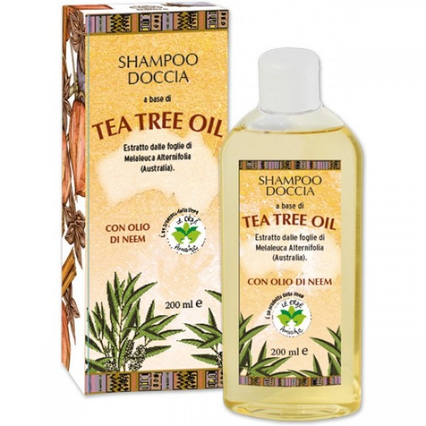Sampon & gel de dus La Dispensa Tea Tree Oil 200 ml  Șampon La Dispensa