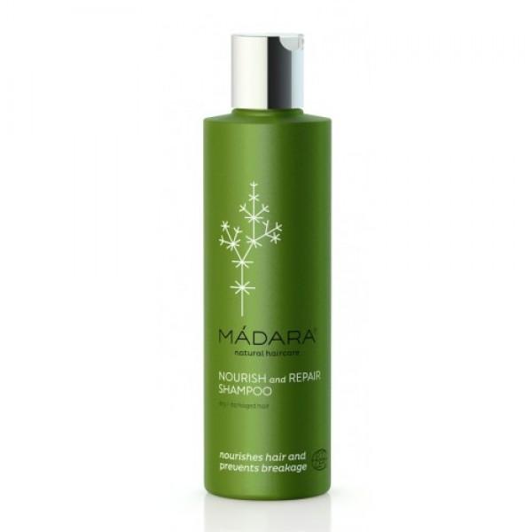 Şampon nutritiv şi regenerant  păr uscat sau deteriorat MÁDARA  Șampon MÁDARA