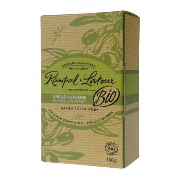 Săpun bio argilă verbină 150g Rampal Latour