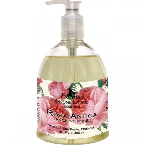 Sapun lichid La Dispensa cu trandafir 500 ml