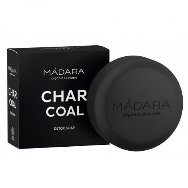 Săpun organic CHARCOAL - detox MADARA 90g