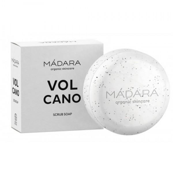 Săpun organic VOLCANO - exfoliant MADARA 90g