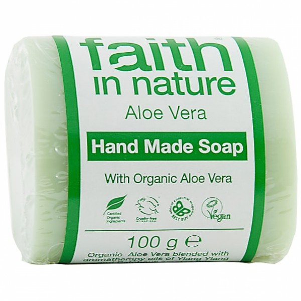 Sapun solid cu aloe vera Faith in Nature 100 g