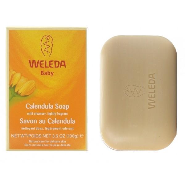 Săpun vegetal cu extract de gălbenele Weleda