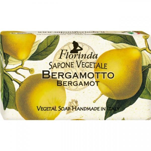 Sapun vegetal La Dispensa cu flori de bergamota 10...
