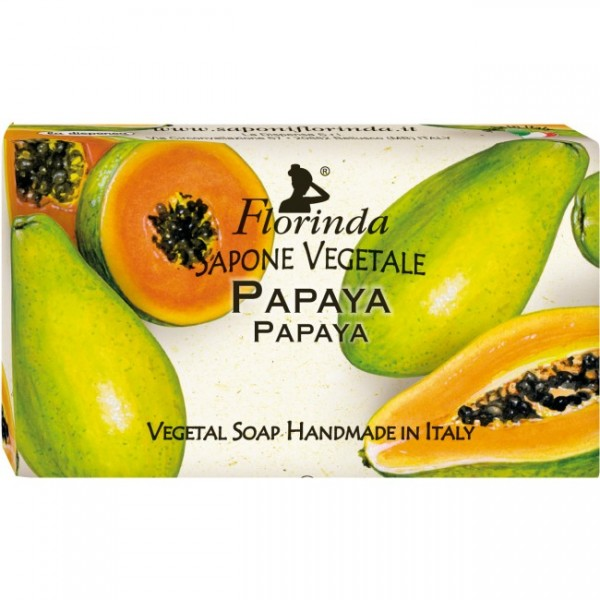 Sapun vegetal La Dispensa cu Papaya 100 g