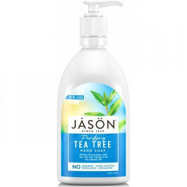 Sapun lichid anti-bacterian cu Tea Tree pentru fat...