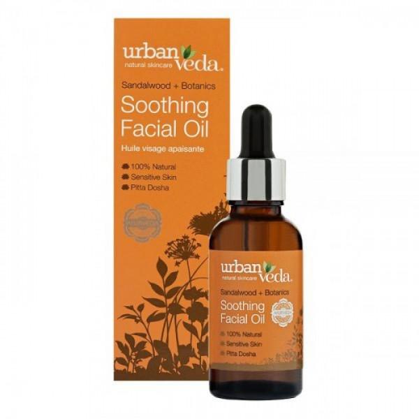 Soothing Facial Oil Urban Veda - Ulei facial Soothing 30 ml  Uleiuri Esențiale Naturale Urban Veda