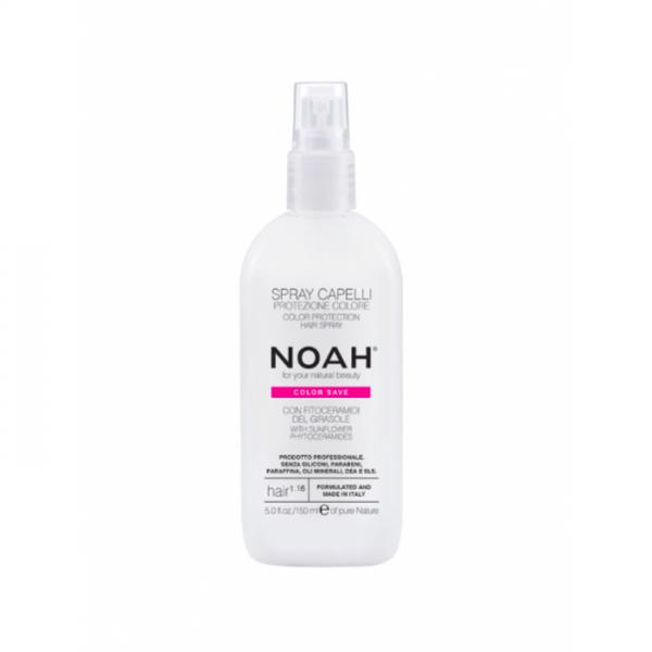 Spray natural pentru protectia culorii parului vop...