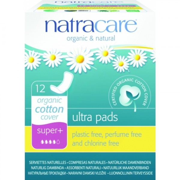 Absorbante super plus cu strat de bumbac organic Natracare  Absorbante Bio Natracare