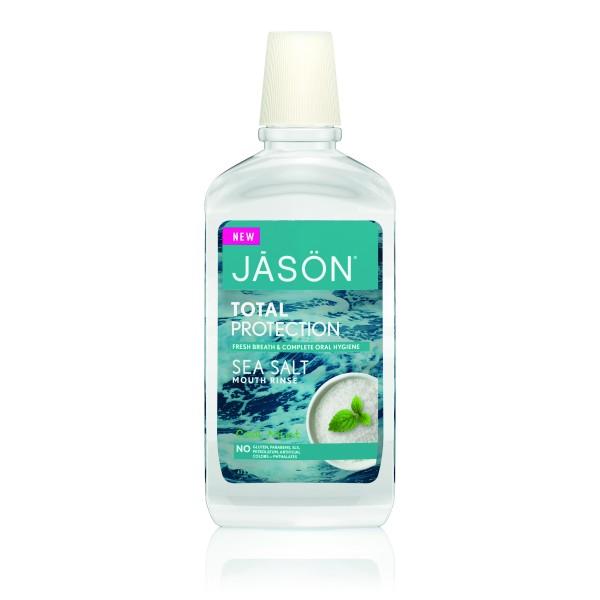 Apa clatire gura Total Protection - respiratie proaspata 473 ml Jason  Îngrijire Dinți Bio Jason
