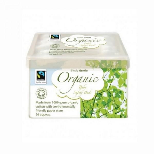 Bete urechi pentru bebelusi organice 56 Buc  Macdonald and Taylor  Produse Naturale Diverse Macdonald and Taylor