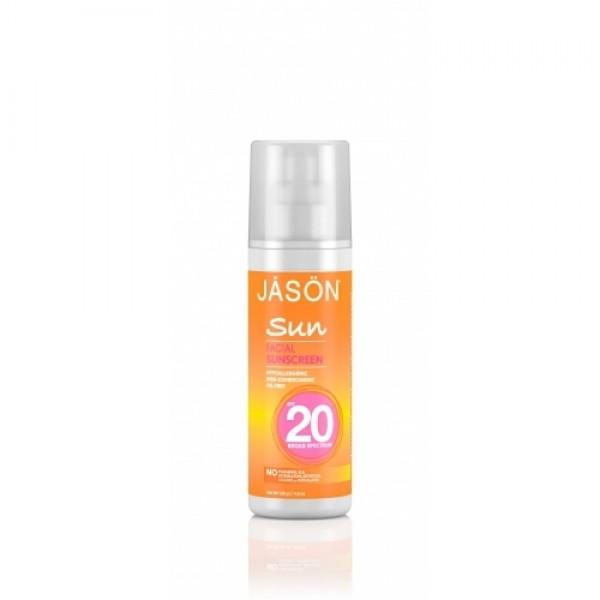 Crema protectie solara pentru fata SPF 20 Jason