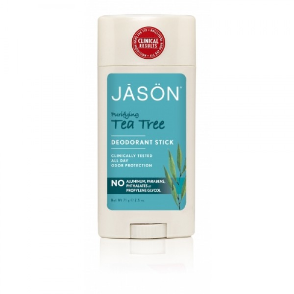 Deodorant stick anti-bacterian cu Tea Tree Jason 7...