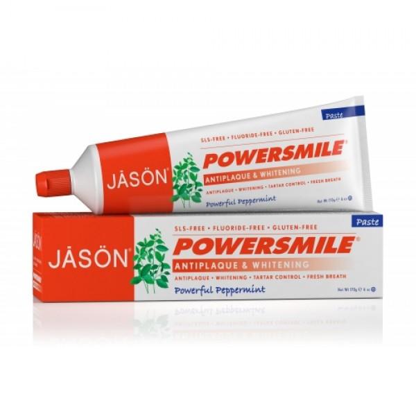 Pasta de dinti Power Smile fara fluor pentru albir...