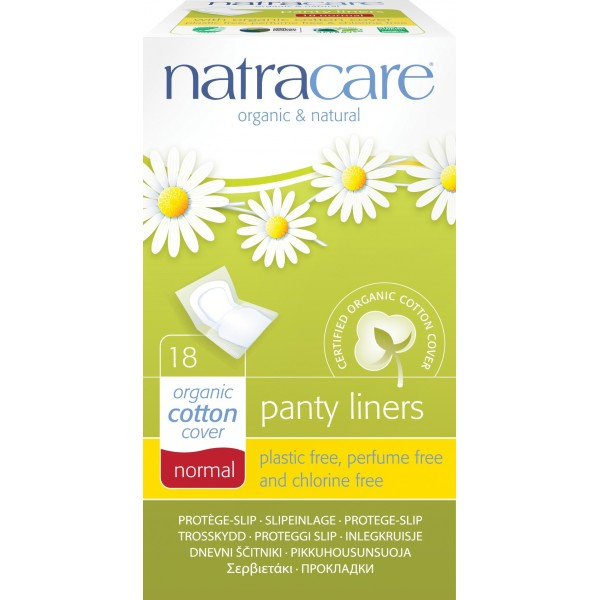 Protej slip ambalat individual  Natracare  Absorbante Bio Natracare