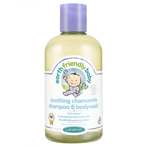 Sampon si gel de dus musetel Earth Friendly Baby  Îngrijire Naturală Copii Earth Friendly Baby