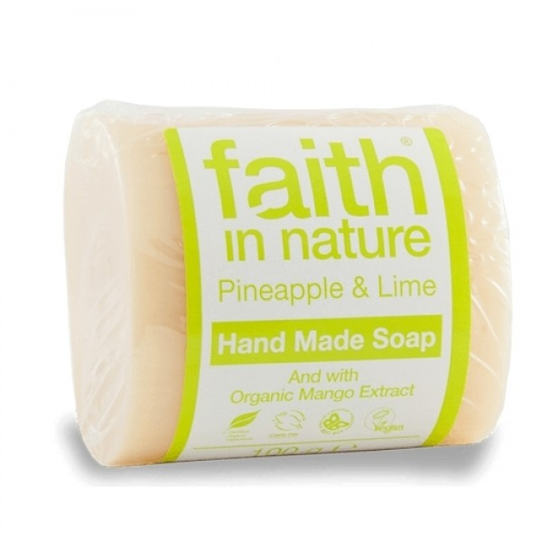 Sapun solid cu ananas si lime Faith in Nature 100 ...
