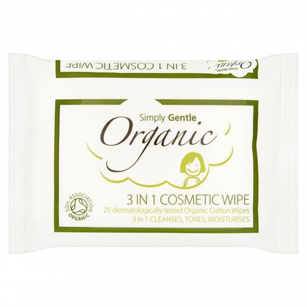 Servetele demachiante din bumbac organic 3 in 1 cu...