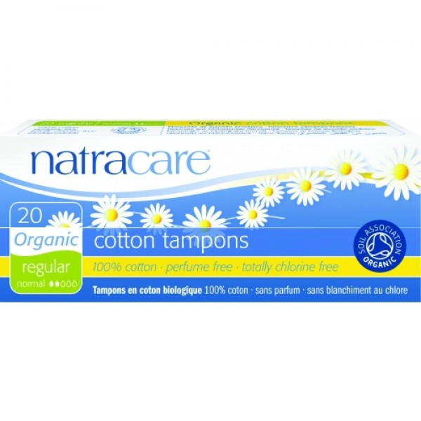Tampoane normal  20 buc Natracare  Absorbante Bio Natracare