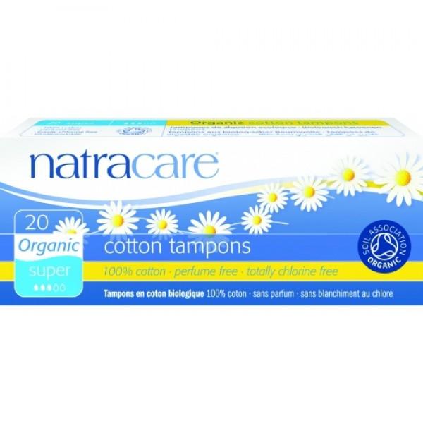 Tampoane super 20 buc Natracare
