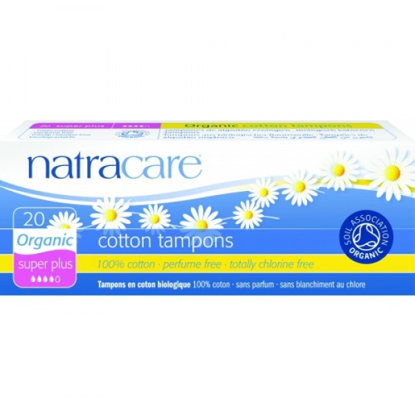 Tampoane super plus 20 buc  Natracare  Absorbante Bio Natracare