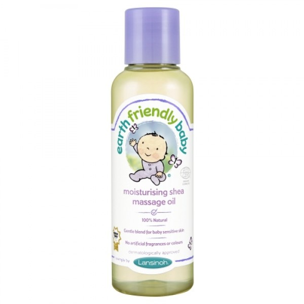 Ulei de masaj cu unt de shea Earth Friendly Baby