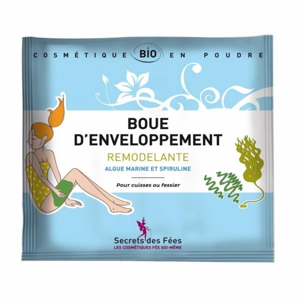 Tratament cu namol modelator pentru corp cu alge s...