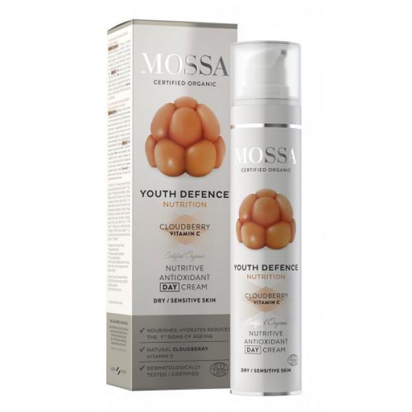 YOUTH DEFENCE Cremă nutritivă antioxidantă de z...